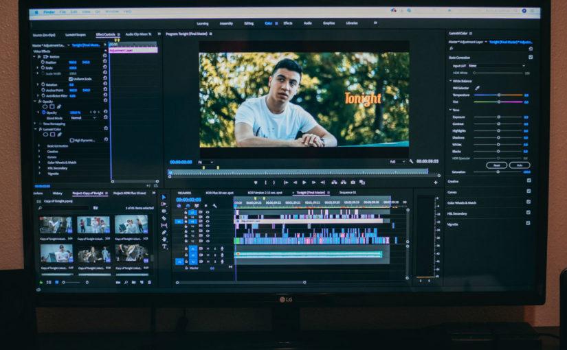 post produzione video